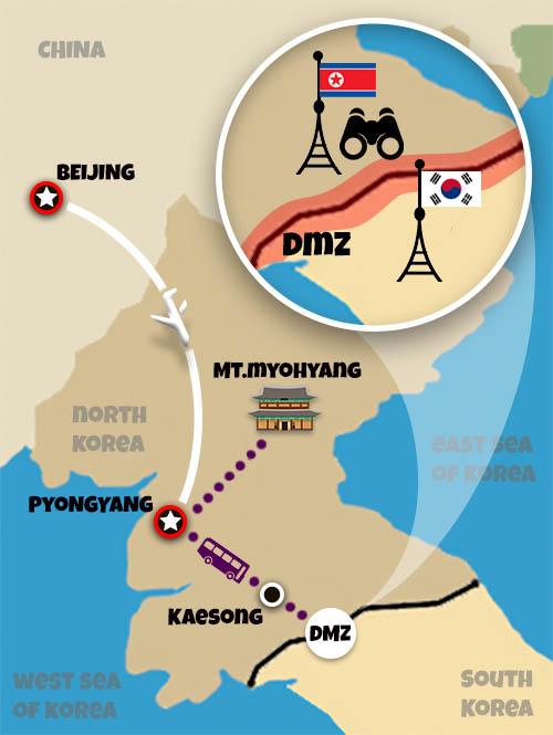 Korean New Year 2020 Travel to North Korea