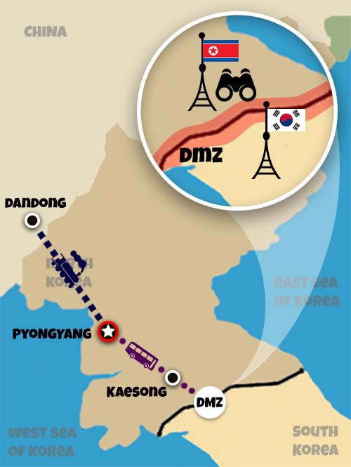 Pyongyang International Autumn Marathon Tour